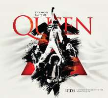 Many Faces Of Queen, 3 CDs