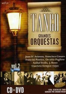 Tango/Grandes Orquestas 2, 1 CD und 1 DVD