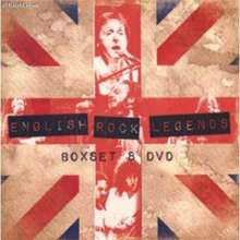 British Rock Legends, 8 DVDs