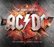 The Many Faces Of AC/DC: The Ultimate Tribute To AC/DC, 3 CDs