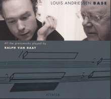 """Louis Andriessen (geb. 1939): Klavierwerke """"Base"""", 2 CDs"""