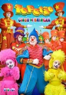 Palhaco Topetao: Circo De Brincar, DVD