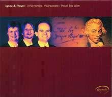 Ignaz Pleyel (1757-1831): Klaviertrios D-Dur,f-moll,B-Dur (Ben 436,442,440), CD