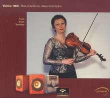 Robert Fuchs (1847-1927): 7 Intermezzi op.82 für Violine & Klavier, CD