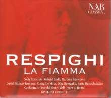 Ottorino Respighi (1879-1936): La Fiamma, 2 CDs