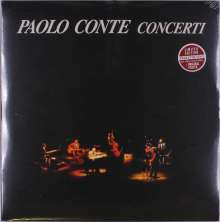 Paolo Conte: Concerti (180g) (Limited Edition) (Amaranth Vinyl), 2 LPs