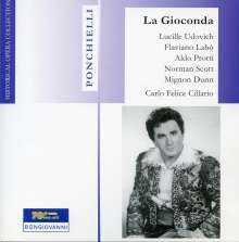 Amilcare Ponchielli (1834-1886): La Gioconda, 2 CDs
