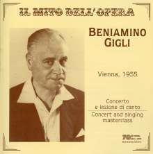 Benjamino Gigli - Konzert in Wien 1955, 2 CDs