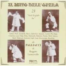 """23 Tenöre singen """"Vesti La Giubba"""", CD"""