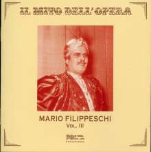 Mario Filippeschi Vol.3, CD
