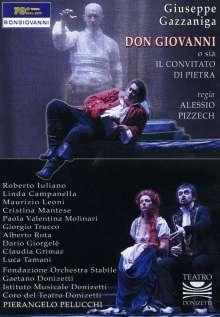 Giuseppe Gazzaniga (1743-1818): Don Giovanni, DVD