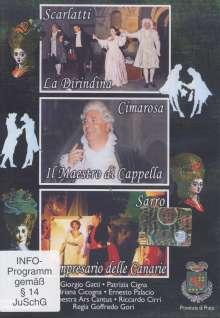 Domenico Scarlatti (1685-1757): La Dirindina, DVD