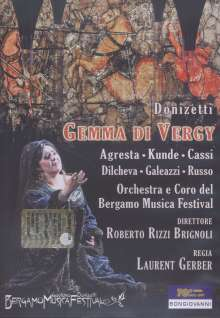 Gaetano Donizetti (1797-1848): Gemma di Vergy, DVD