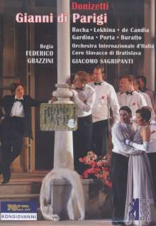 Gaetano Donizetti (1797-1848): Gianni di Parigi, DVD