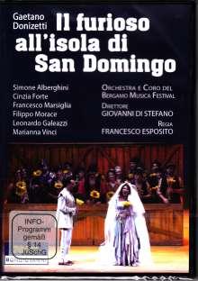 Gaetano Donizetti (1797-1848): Il Furioso all'Isola di San Domingo, DVD