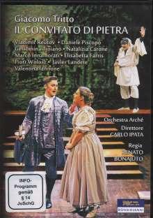 Giacomo Tritto (1733-1824): Il Convitato di Pietra, DVD