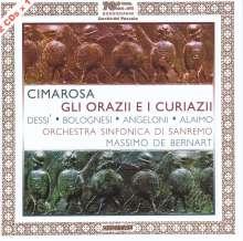 Domenico Cimarosa (1749-1801): Gli Orazii e i Curiazi, 2 CDs