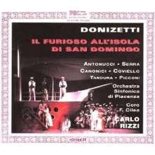 Gaetano Donizetti (1797-1848): Il Furioso all'Isola di San Domingo, 3 CDs