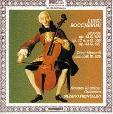 Luigi Boccherini (1743-1805): 12 Minuetti cantabili f.Orchester G.525, CD