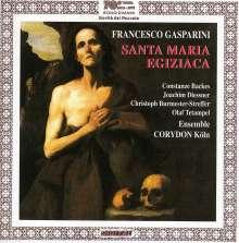 Francesco Gasparini (1661-1727): Santa Maria Egiziaca, CD