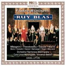 Filippo Marchetti (1831-1902): Ruy Blas, 2 CDs