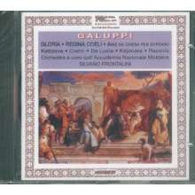 Baldassare Galuppi (1706-1785): Gloria für Soli,Chor & Orchester, CD