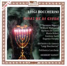 Luigi Boccherini (1743-1805): Gioas Re di Giuda, 2 CDs