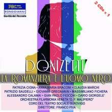 Gaetano Donizetti (1797-1848): La Romanziera e l'Uomo Nero, 2 CDs