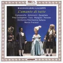 Baldassare Galuppi (1706-1785): L'Amante Di Tutte, CD