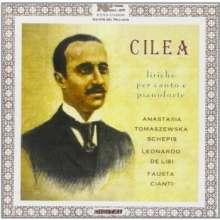Francesco Cilea (1866-1950): Lieder, CD