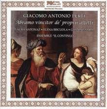 Giacomo Antonio Perti (1661-1756): Abramo Vincitor De' Proprii Affetti, CD