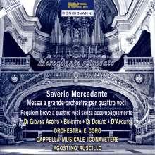 Saverio Mercadante (1795-1870): Messa a grande orchestra per quattro voci, CD