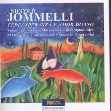 """Niccolo Jommelli (1714-1774): Kantate """"Fede, Speranza E Amor Divino"""", 2 CDs"""