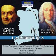 Giovanni Battista Martini (1706-1784): La Dirindina (1737), CD