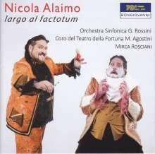 Nicola Alaimo - Largo al Factotum, CD