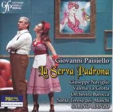 Giovanni Paisiello (1740-1816): La Serva Padrona, CD