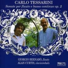 Carlo Tessarini (1690-1766): Sonaten für Flöte & Bc op.2 Nr.1,6-9,12, CD