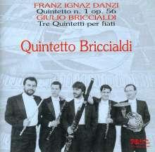 Giulio Briccialdi (1818-1881): Bläserquintette op.10 Nr.1 & 2;op.124, CD