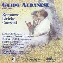 Guido Albanese (1893-1966): Romanze,Liriche e Canzoni, CD
