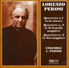 Lorenzo Perosi (1872-1956): Streichquartette Nr.1-3, CD