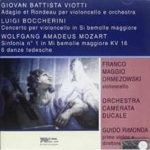 Giovanni Battista Viotti (1755-1824): Adagio & Rondo für Cello & Orchester, CD