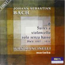 Johann Sebastian Bach (1685-1750): Cellosuiten BWV 1007-1012 arr.für Marimba, 2 CDs