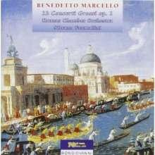 Benedetto Marcello (1686-1739): Concerti grossi op.1 Nr.1-12, 2 CDs
