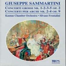Giuseppe Sammartini (1695-1750): Concerti grossi op.2 Nr.1-3,5, CD