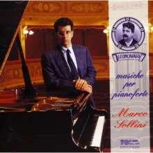 Ruggero Leoncavallo (1857-1919): Klavierwerke, CD