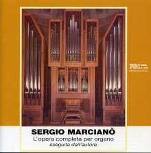 Sergio Marciano (geb. 1922): Sämtliche Orgelwerke, 7 CDs