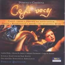 """Domenico Cimarosa (1749-1801): Motette """"Coeli Voces"""", CD"""