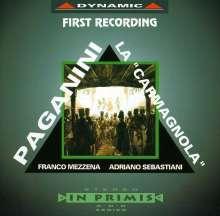 Niccolo Paganini (1782-1840): Werke für Violine & Gitarre, CD