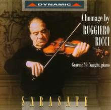 Pablo de Sarasate (1844-1908): Werke für Violine & Klavier, CD