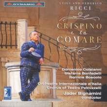 Federico Ricci (1809-1877): Crispino e la Comare, 2 CDs